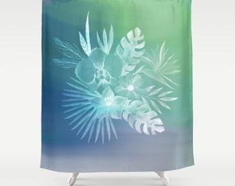 Fantasy curtain etsy for Fantasy shower curtains
