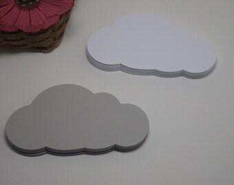Cloud - Storm Cloud Die Cuts - 30 PC Set! Choose your color! VTC-0042