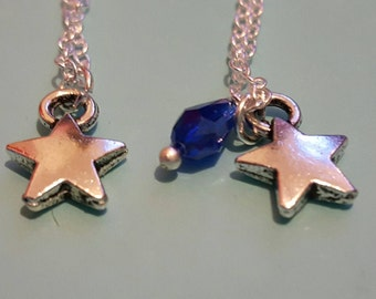 Shooting star necklace. When you wish on a star. When you wish upon a star...