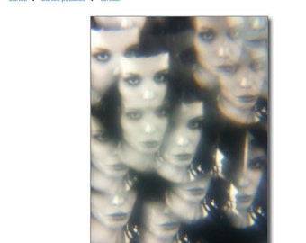 Postcrossing Alice Glass Prism eyes' edition