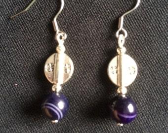 Earrings - Onyx