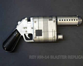 REY NN-14 BLASTER Collectible Cosplay Prop Replica Inspired by Star Wars Episode Force Awakens Scale 1:1