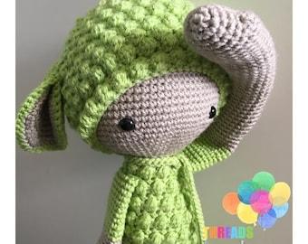 oscar sheep - crochet soft toy, plush, amigurumi