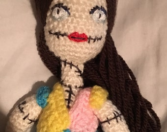 Crochet Sally Rag Doll Nightmare before Christmas