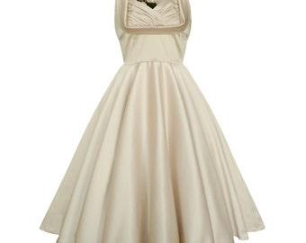 Ivory Dress Ivory Wedding Dress Ivory Bridesmaid Dress Ivory Cocktail Dress Ivory Party Dress Plus Size Dress Ivory Prom Dress Pin Up Dress