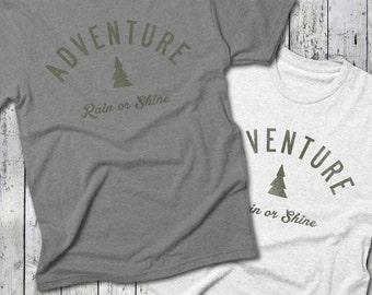 ADVENTURE Rain or Shine Tee -- Adventure T-Shirt, UCo
