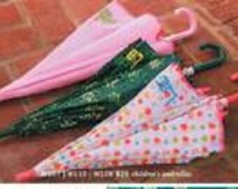 Children Monogrammed Umbrella