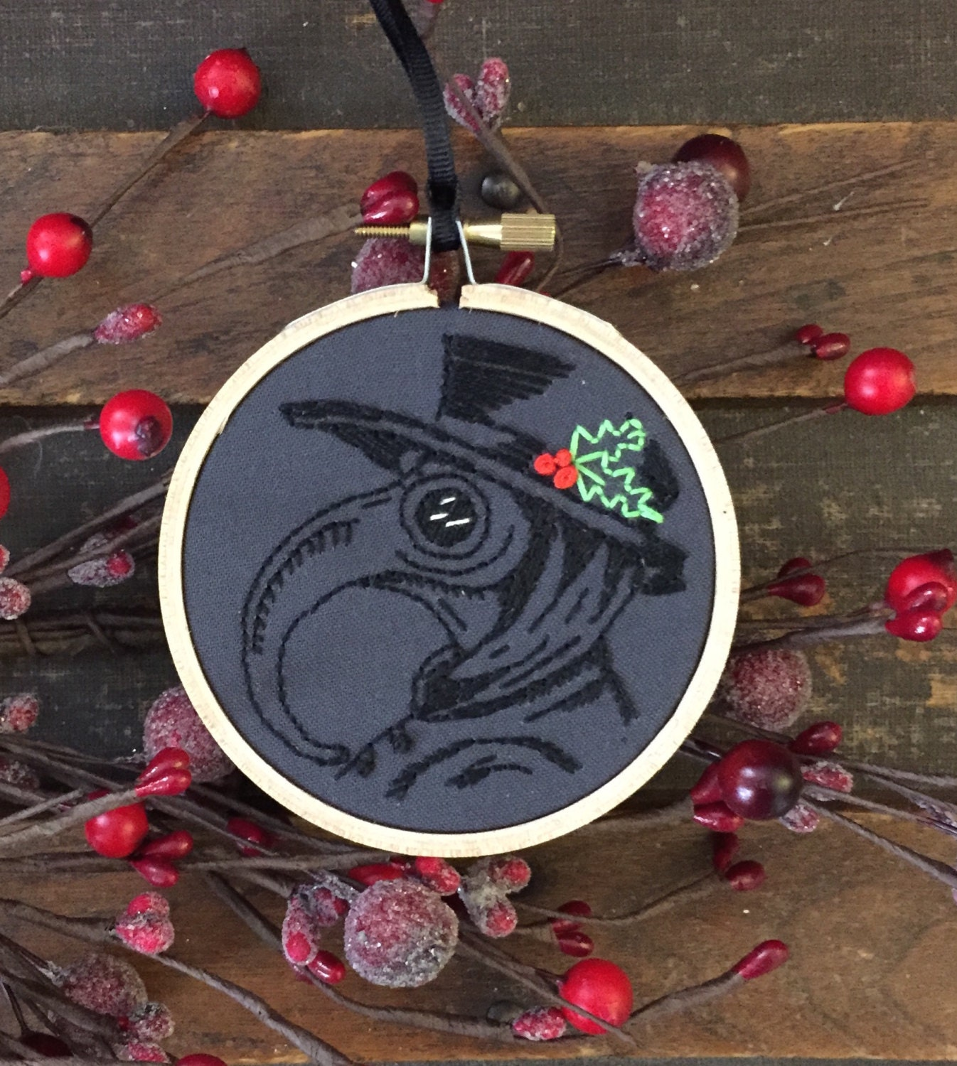 Plague Doctor Ornament Gothic Christmas Ornament Gothic