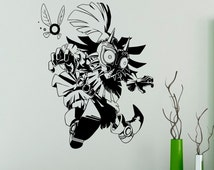 Legend of Zelda Wall Vinyl Decal Majora's Mask Wall Sticker Home Interior Bedroom Decor Kids Children Wall Design 17(zda)