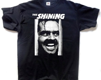 The Shining T-SHIRT Unisex Adults Redrum Jack Nicholson Stephen King Jack Torrance