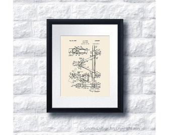 Vintage Willys Jeep Patent Print #5 1945 Jeep Towing device, Jeep gift idea, vintage jeep wall decor, military gift idea, US Army Gift