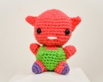 Monaka Dragon Ball Super Plush Crochet Amigurumi