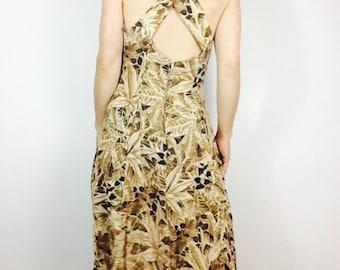 90s floral dress 90s long dress vintage floral dress cross back maxi dress floral maxi dress long 90s dress long floral dress vintage dress