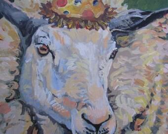 Party animal! (sheepish)