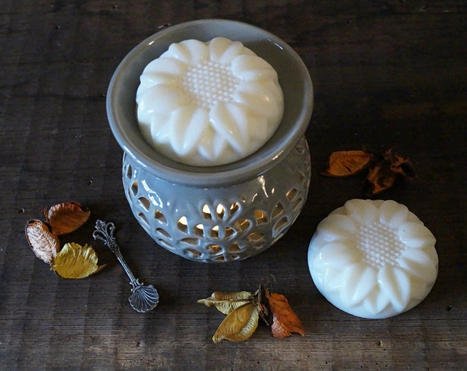 Scented Soy Wax Melts Flowers Home fragrance Aroma soy scented Candle warmer Melt tarts Essential oil diffuser Home decor Aromatherapy
