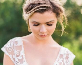 Bridal Gold Hair Vine Bridal Headband Pearl Hair Vine Wedding Hair Vine Pearl Headband Bridal Hair Vine Wedding Headband #149