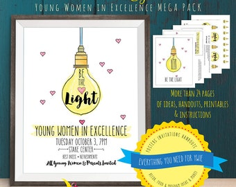 Be the Light: Young Women in Excellence Mega Pack [NON CUSTOMIZED] Digital Download