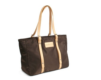 Waterproof Casual Tote Bag (Brown)