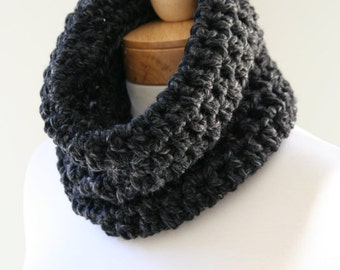 Chunky Neck Warmer, The Snugg, Chunky Cowl, Handmade Scarf, Chunky Knit Infinity, Circle Scarf