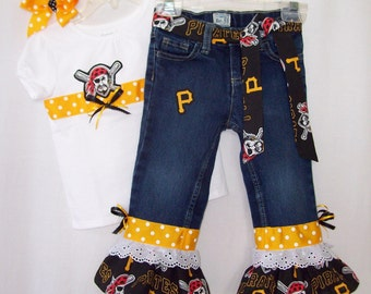 Custom Boutique MLB Baseball Jeans Outfit all teams Yankees Mets Giants Phillies Red Sox Indiana Tigers Pirates Cubs Dodgers Cardinals