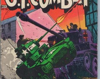 GI Combat 120 Nov 1966 VG (4.0)