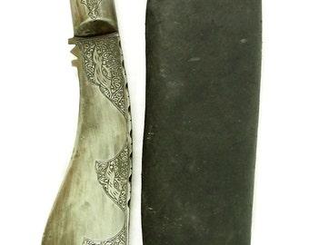 nepal Gurkha kukri Knife Straigh Blade Islamic Short sword Dagger choora dagger Pesh kabze kukri No: MS/23