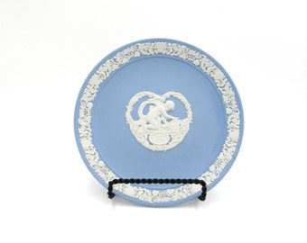 Blue Wedgewood, Wedgwood, Valentines Day, Cupid, Cherub, Cherub Dish, Wedgewood, Wedgewood Blue, Collectible Plates, Blue and White,