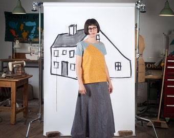 Blueprints for sewing cabin shirt shift dress digital pdf blueprints for sewing saltbox tee or tank pdf digital sewing pattern malvernweather Images