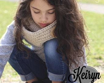 Keiryn Infinity Scarf (Crochet Pattern)