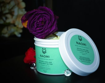 Naomi Shea and Cocoa Body Butter - All Natural ingredients 10oz