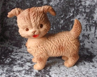 1950s Edward Mobley Rubber Puppy Squeak Toy
