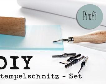 DIY stamp carve Pro, Linolschnitzwerkzeug
