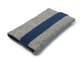 Xperia X Case, Sony Xperia XA Sleeve, Xperia X Performance Case -  Navy Blue, Gray, Black, Fabric