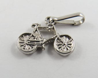 A Kids Bicycle Sterling Silver Charm or Pendant.
