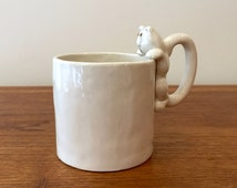 Unique Cat Shaped Mug Related Items Etsy
