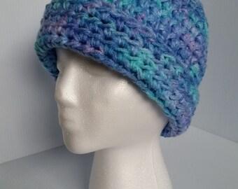 Crochet Hat, Winter Hat, Beanie-Ready to Ship
