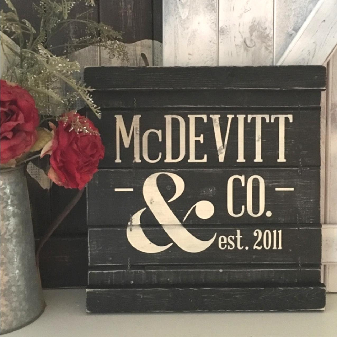 5th Wedding Anniversary Traditional Gifts: 5th WEDDING ANNIVERSARY GIFT 5th Anniversary By