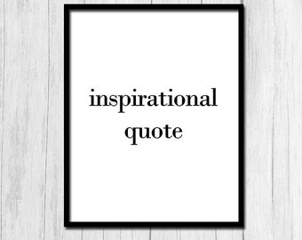 Inspirational Quote Digital Download Funny Quote Print Ironic Quote Print Printable Art Funny Wall Decor Sarcastic Wall Decor Sarcastic