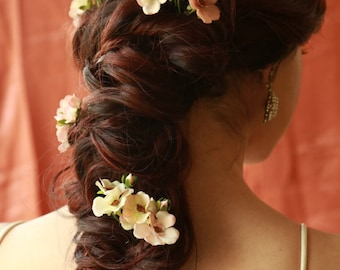Delicate Blossoms For Your Hair