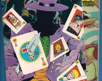 The New Titans Green Arrow DC comic lot VF Teen Titans