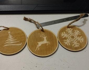 Christmas Decorations (set of 4)