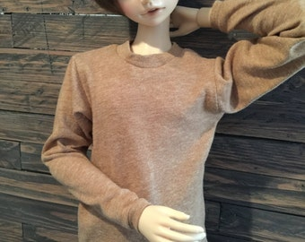 SD Long sleeve Lt brown T-shirt