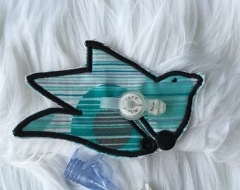 Blue Bird of Happiness custom G tube pad