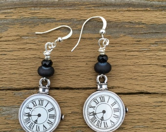 The Time Is ... Earrings