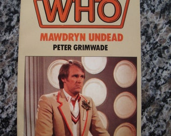 Doctor Who Mawdryn Undead Target Paperback Book