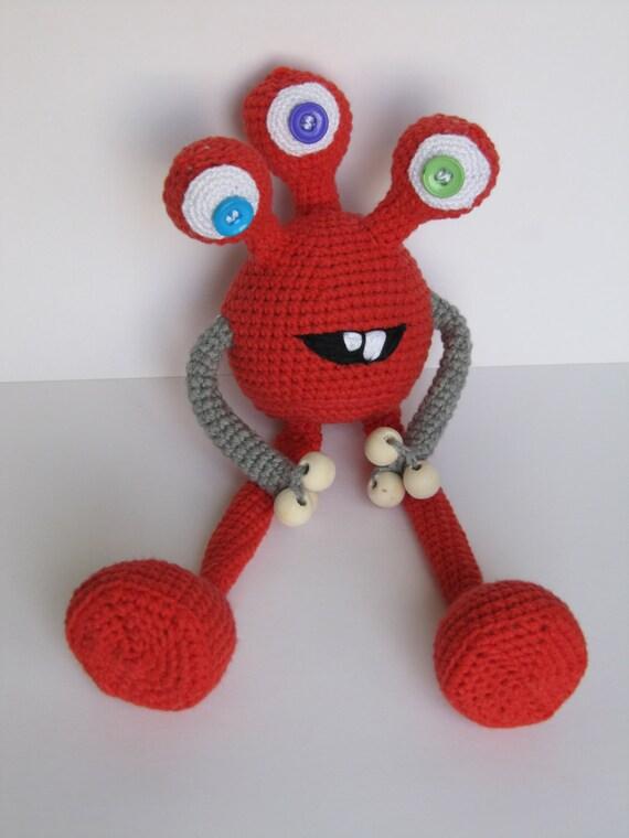 Monster Toys For Boys : Baby shower gift fantasy toy kids doll boy birthday etsy