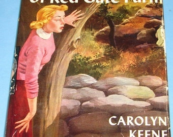 Nancy Drew #6 Secret of Red Gate Farm Orig Text DJ