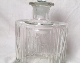 Glass Liquor Scotch Decanter