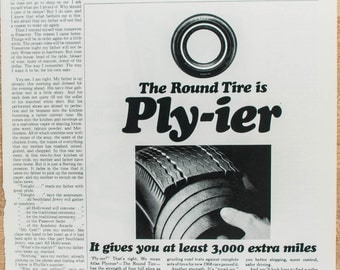 Atlas Plycron Tire Magazine Ad from 1968 (AD68-0406-109)