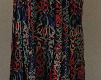 Vintage Pleated Skirt Sz XS
